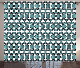 Retro Traditional Pattern Curtain