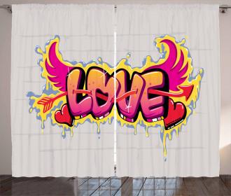 Pierced Love Curtain
