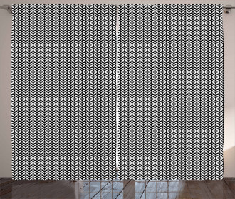 Checkerboard Texture Curtain