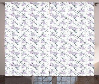 Thorny White Rose Bundle Curtain