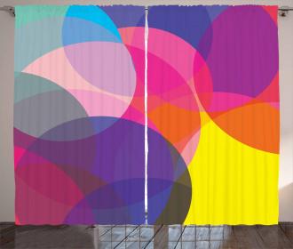 Colorful Circles Curtain