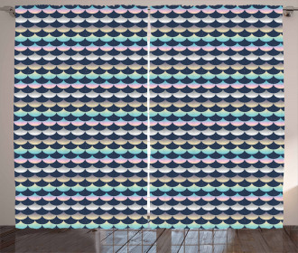 Dreamy Artful Colors Curtain