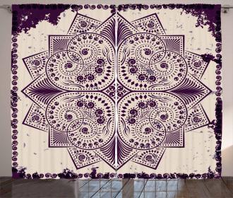 Snowflake Form Curtain