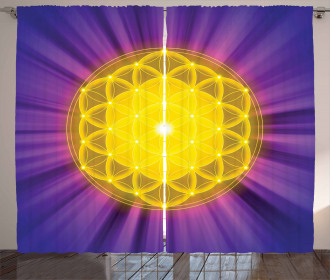 Flower of Life Curtain