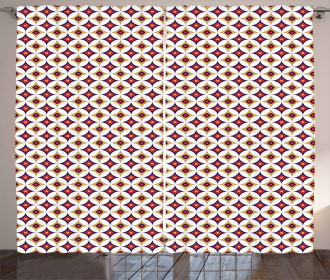 Balinese Ethnic Mosaic Curtain