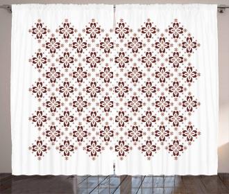 Indonesian Native Tile Curtain