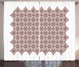Javanese Vintage Batik Curtain