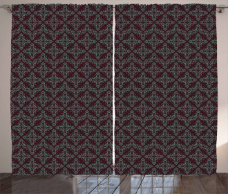 Abstract Baroque Curtain