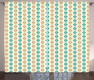 Simple Daisies Curtain