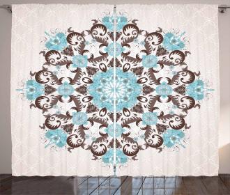 Mandala Antique Curtain