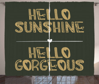 Hello Sunshine Curtain
