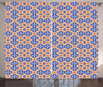Moroccan Stars Design Curtain