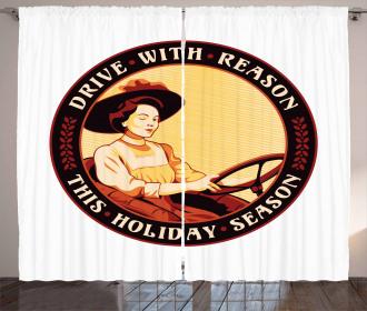 Driver Women Curtain