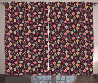 Balls and Baubles Curtain