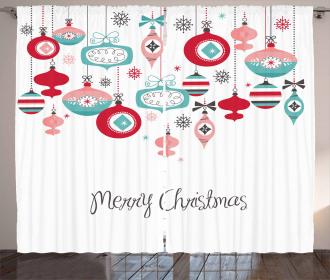 Noel Season Elements Curtain