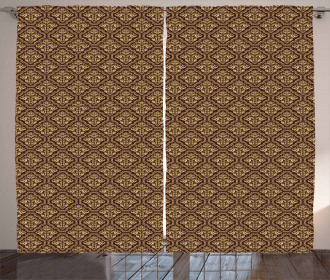 Baroque Style Curtain
