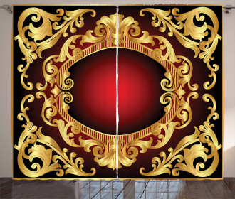 Frame Baroque Curtain