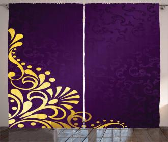 Curvy Ornament Curtain