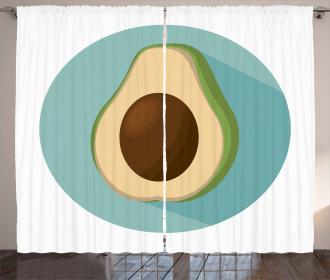 Raw Delicious Avocado Curtain