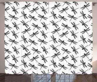 Sketch Wings Curtain