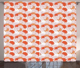 Lily Zen Garden Curtain