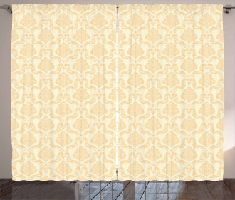 Classical Floral Pastel Curtain