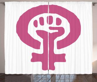 Feminism Ideology Curtain