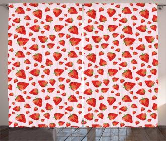 Juicy Ripe Berries Curtain