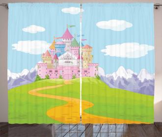 A Magnificent Castle Curtain
