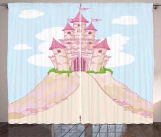 Magical Fairy Castle Curtain