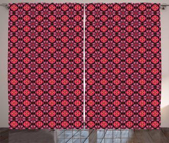 Retro Geometry Curtain