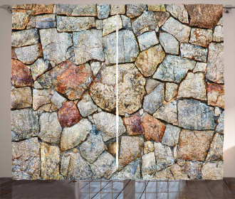 Rustic Natural Wall Curtain