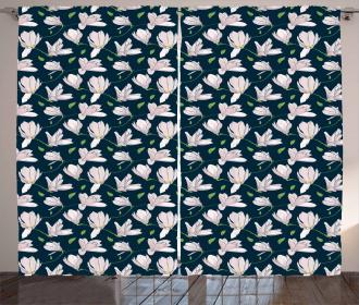 Japanese Sakura Flower Curtain