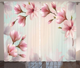Double Exposure Effect Curtain