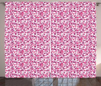 Primitive Geometric Curtain