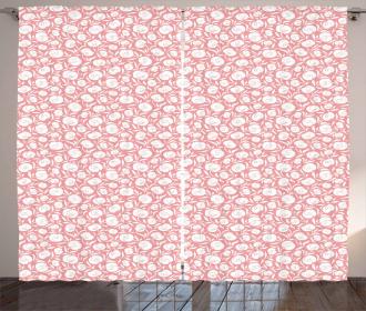 Sensual Calla Flower Curtain