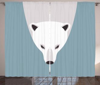 Artistic Flat Design Curtain