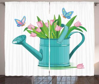 Bouquet of Tulips Garden Curtain