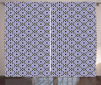 Antique Zellige Tile Curtain