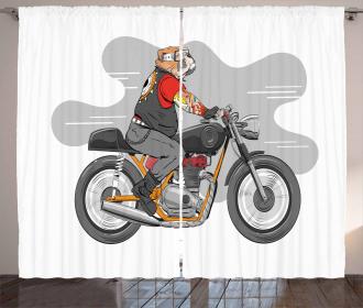 English Bulldog Bike Curtain