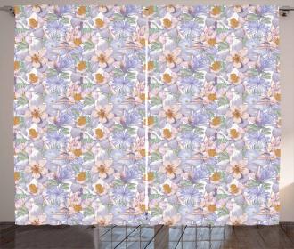 Classic Wildlife Blossoms Curtain
