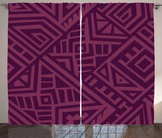 Bohemian African Culture Curtain