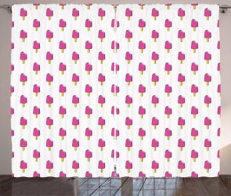 Simplistic Biden Popsicle Curtain