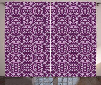 Oriental Flourish Curtain