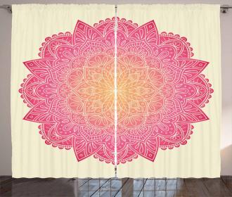 Tribal Symbolism Heal Curtain