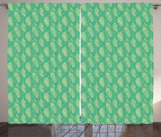 Bohemian Artistic Motifs Curtain