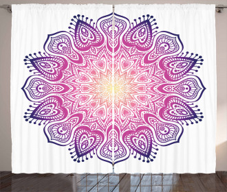 Mediation Inspired Element Curtain