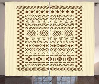 Traditional Africa Curtain