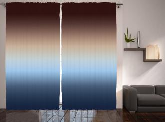 Gradual Color Change Curtain