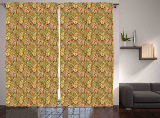 Colorful Persian Style Curtain